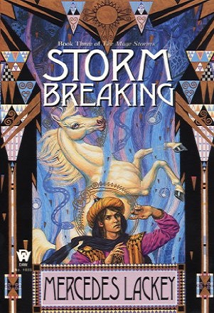 Book cover: Storm Breaking, by Mercedes Lackey