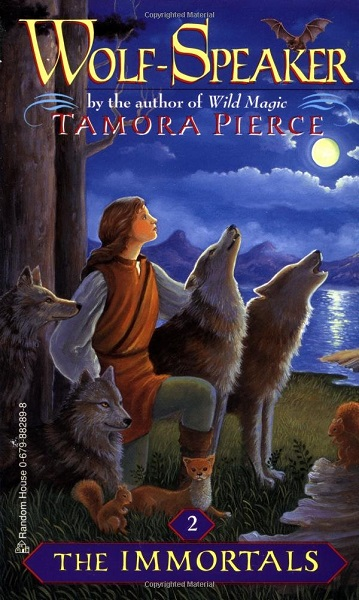 Book cover: Wolf-Speaker, by Tamora Pierce