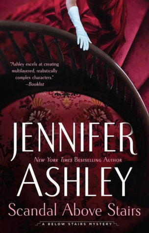 Book cover: Scandal Above Stairs, by Jennifer Ashley
