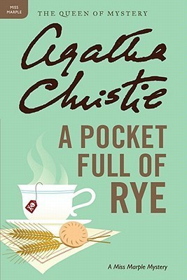 Book cover: A Pocket Full of Rye, by Agatha Christie