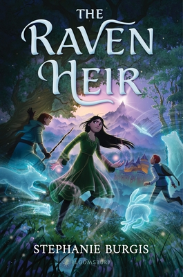 Book Cover: The Raven Heir, by Stephanie Burgis