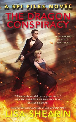 Book cover: The Dragon Conspiracy, by Lisa Shearin