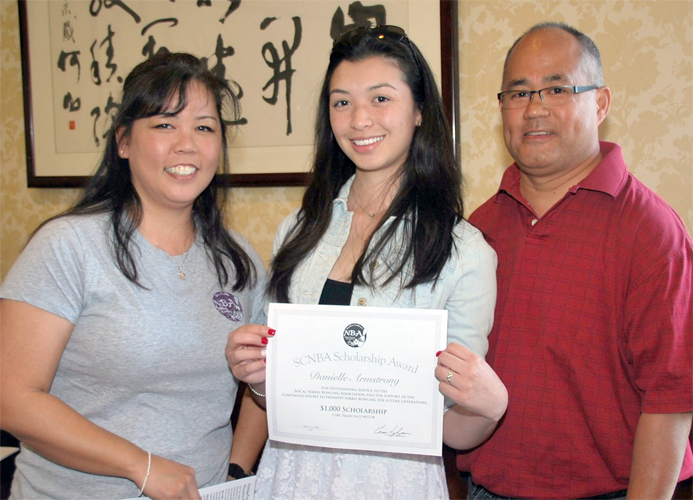 Danielle_Scholarship Award