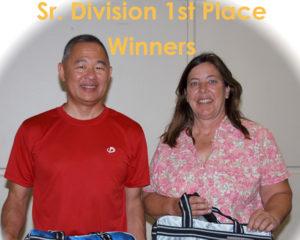 Sr. 1st place