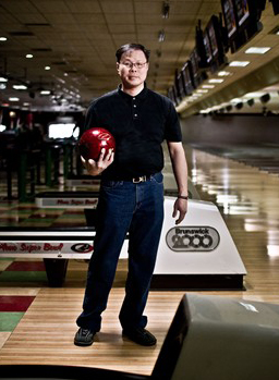 Only 21 certified perfect series have been rolled. Ever. Bill Fong almost made it 22.