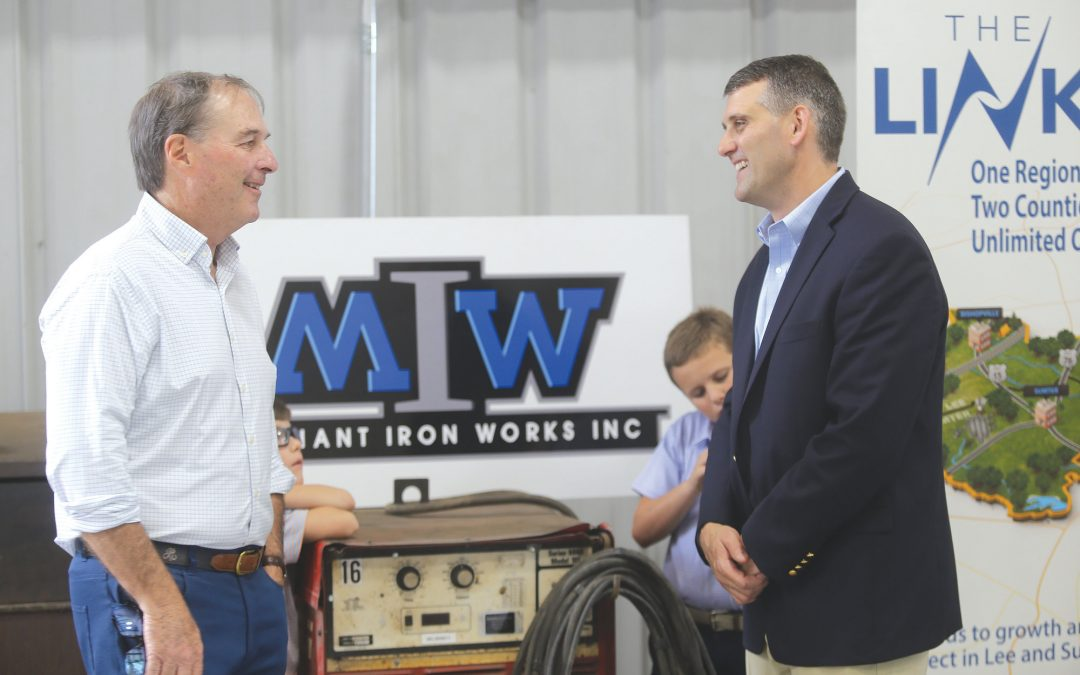 Sumter's Merchant Iron Works owner credits his mentors, employees in his journey to success