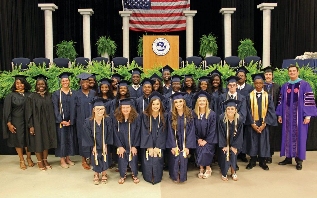 Central Carolina Technical College celebrates more than 600 graduates