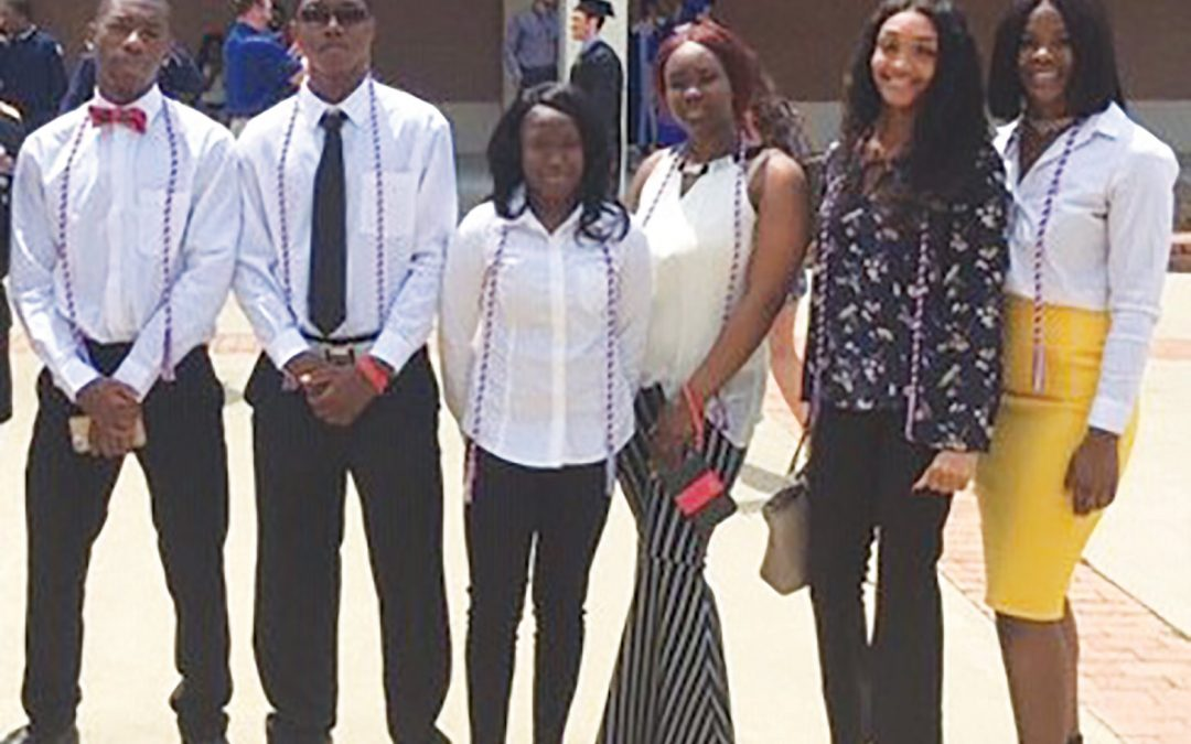 Lee Central High students honored in cord ceremony