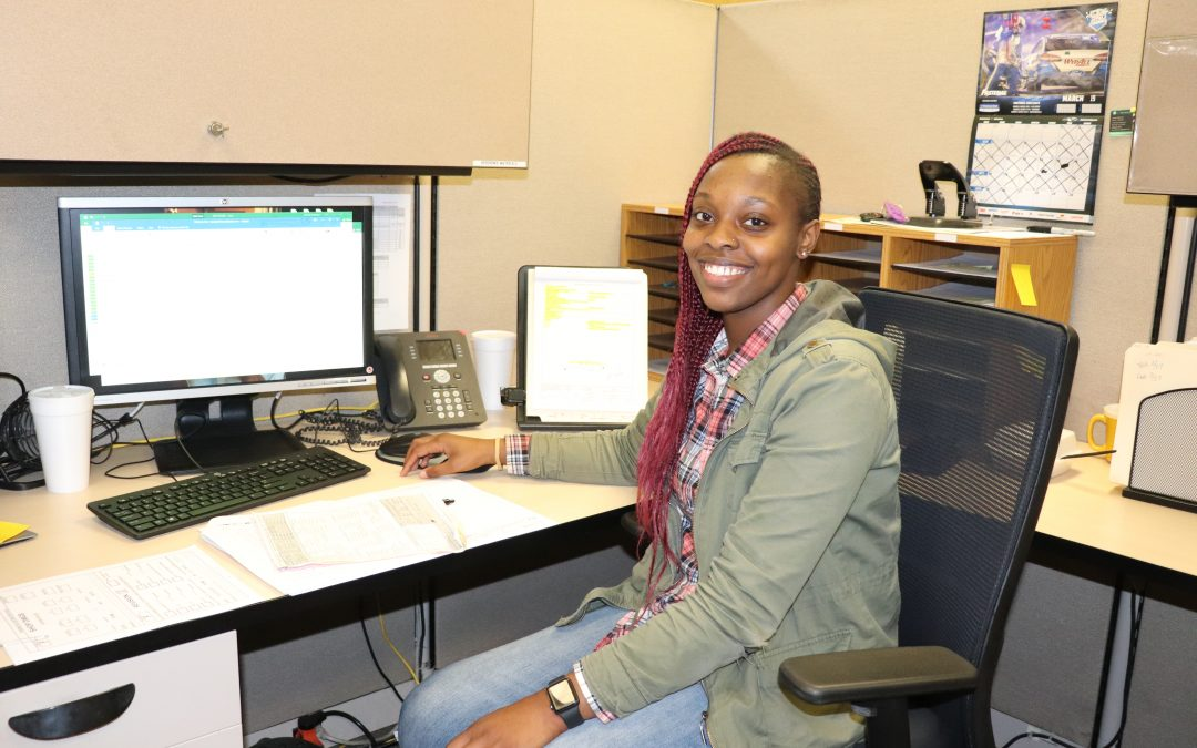 Eaton's employee Nyaaisjah Samuel shares her story