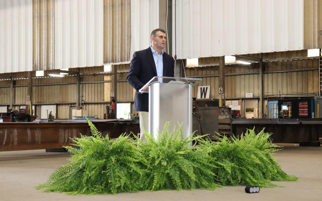 Merchant Iron Works Hosts Expansion Celebration