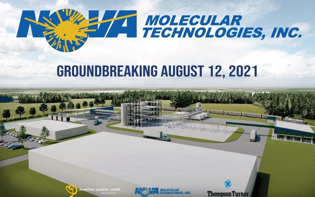 Nova Molecular to Break Ground on New Facility in Sumter, SC