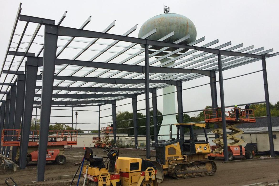 New Brewery Construction