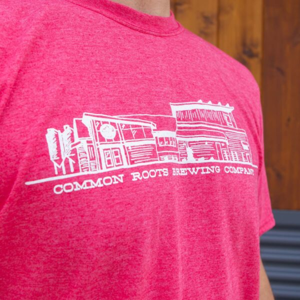 Brewery Tee Illustration Detail