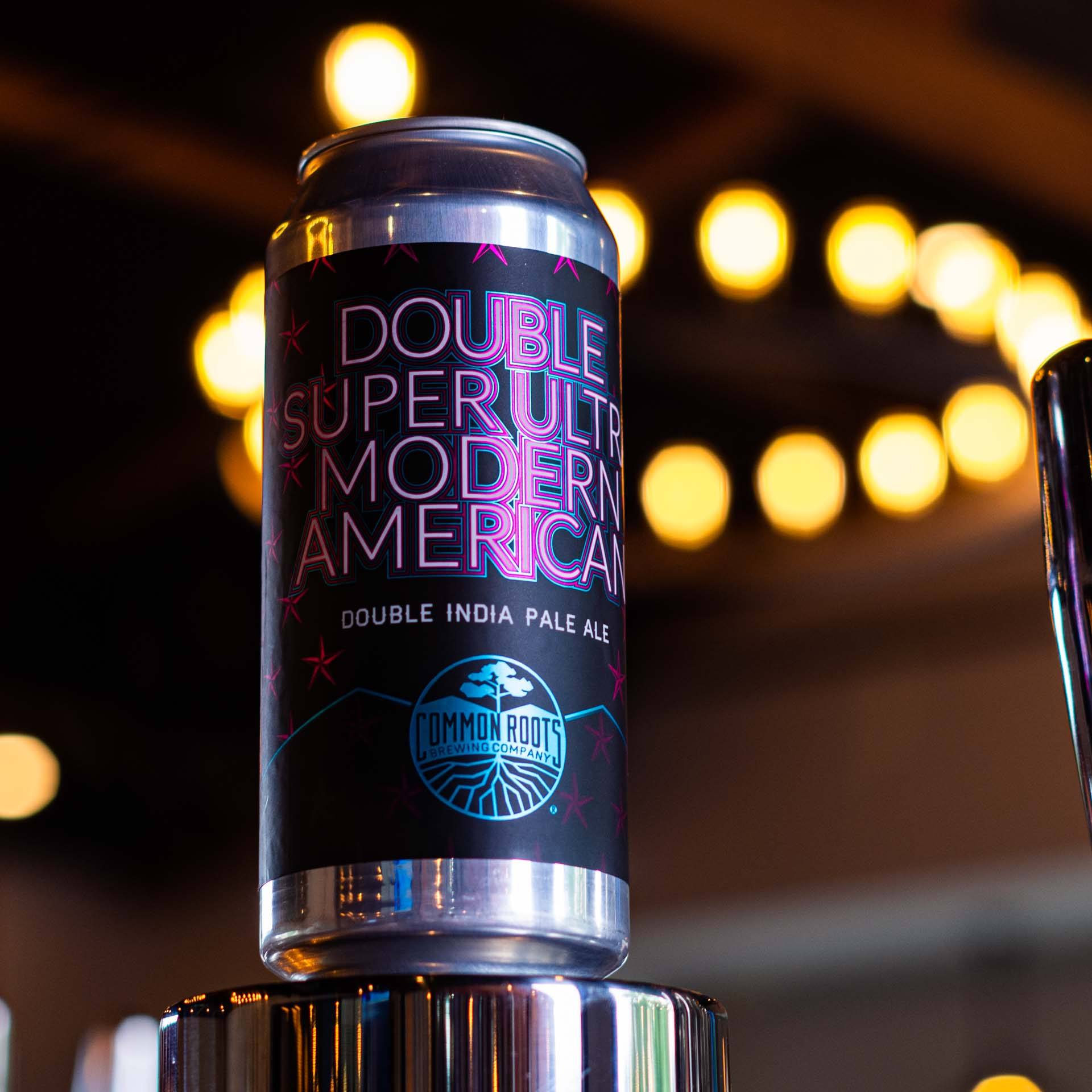 Double Super Ultra Modern American Can