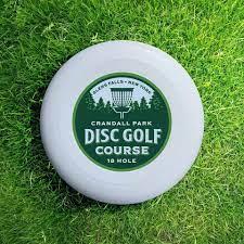 Crandall Park disc on grass