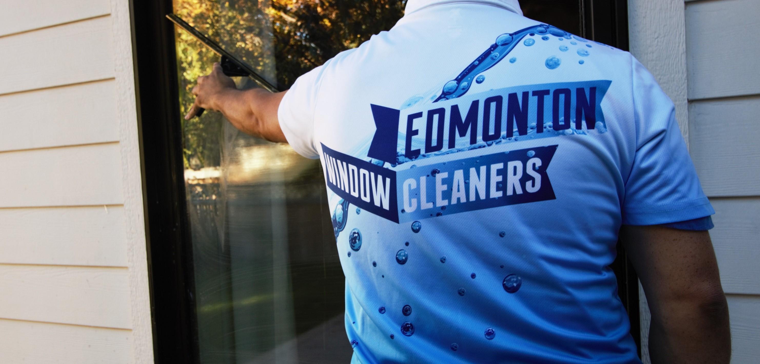 residential window cleaning Edmonton