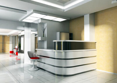 Commercial Designed Electrical Lighting