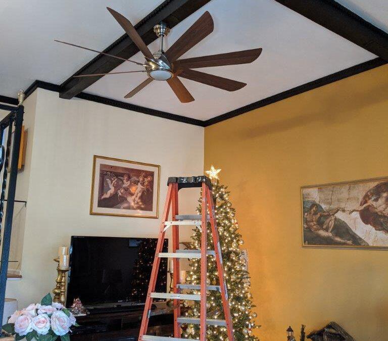Ceiling Fan Installation in Bay Shore