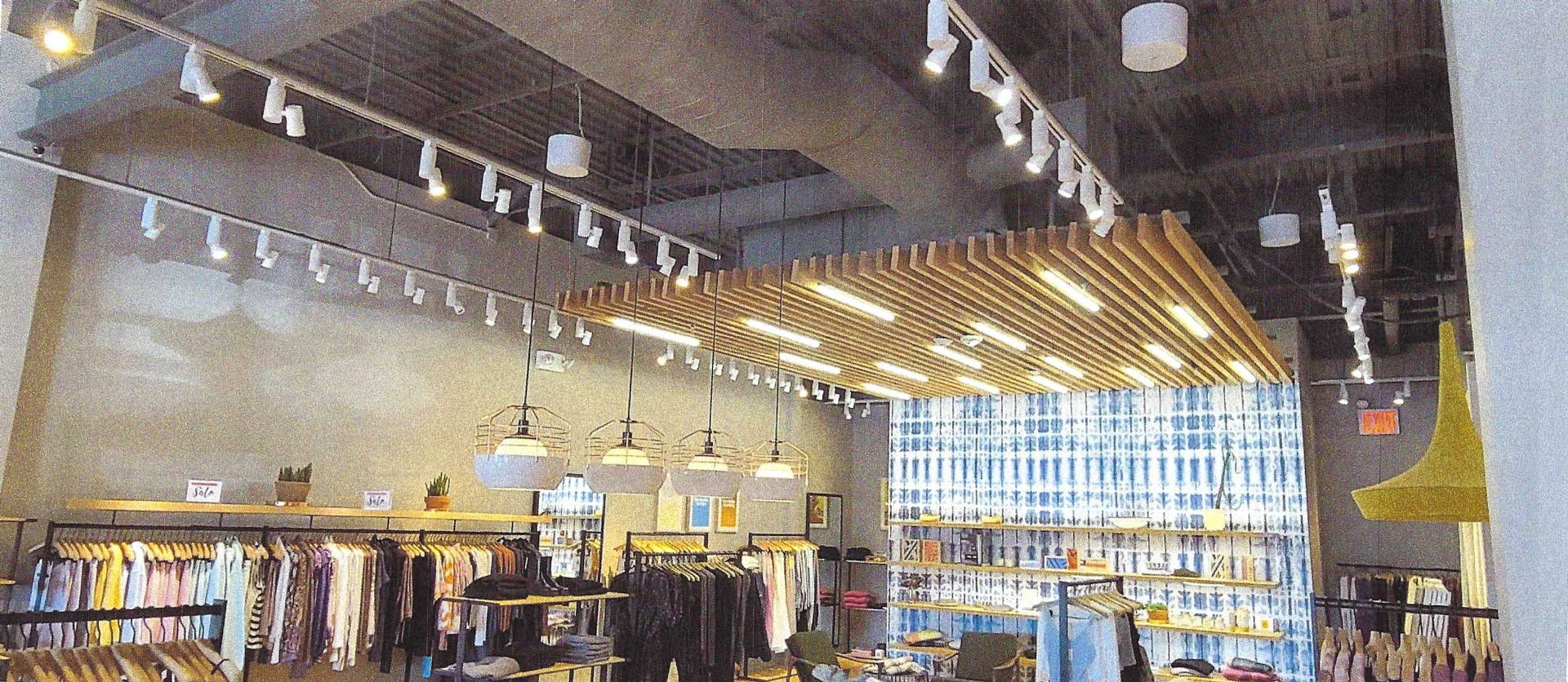 Commercial Electric Work at a Retail Store in Roslyn NY 11576
