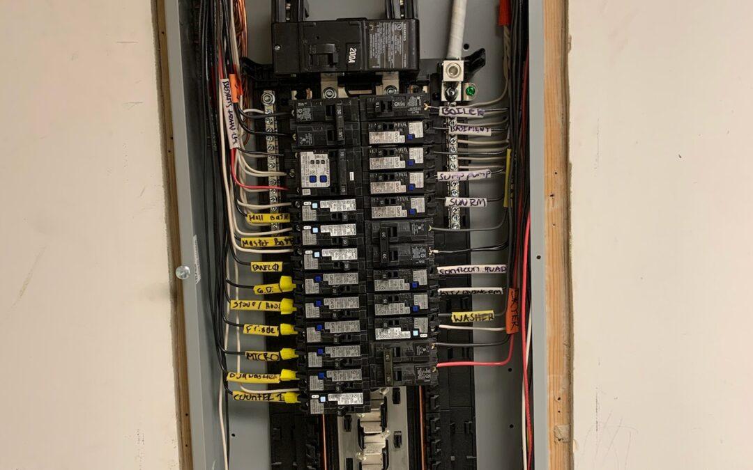 New 200 amp service Quogue NY 11959 on Long Island