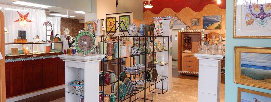 inside Dana Simson's store Chesapeake east