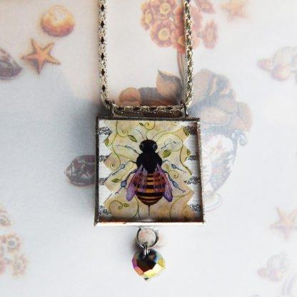 Danasimson.com just bee pendant