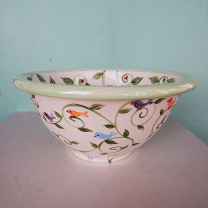 Danasimson.com side view Happy nest wedding bowl pastel palette