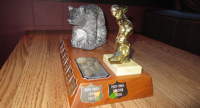 KOHA Awards ::  Best Defenceman :: Graham Rudd