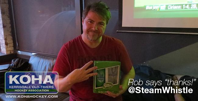 KOHA :: Steam Whistle prize!