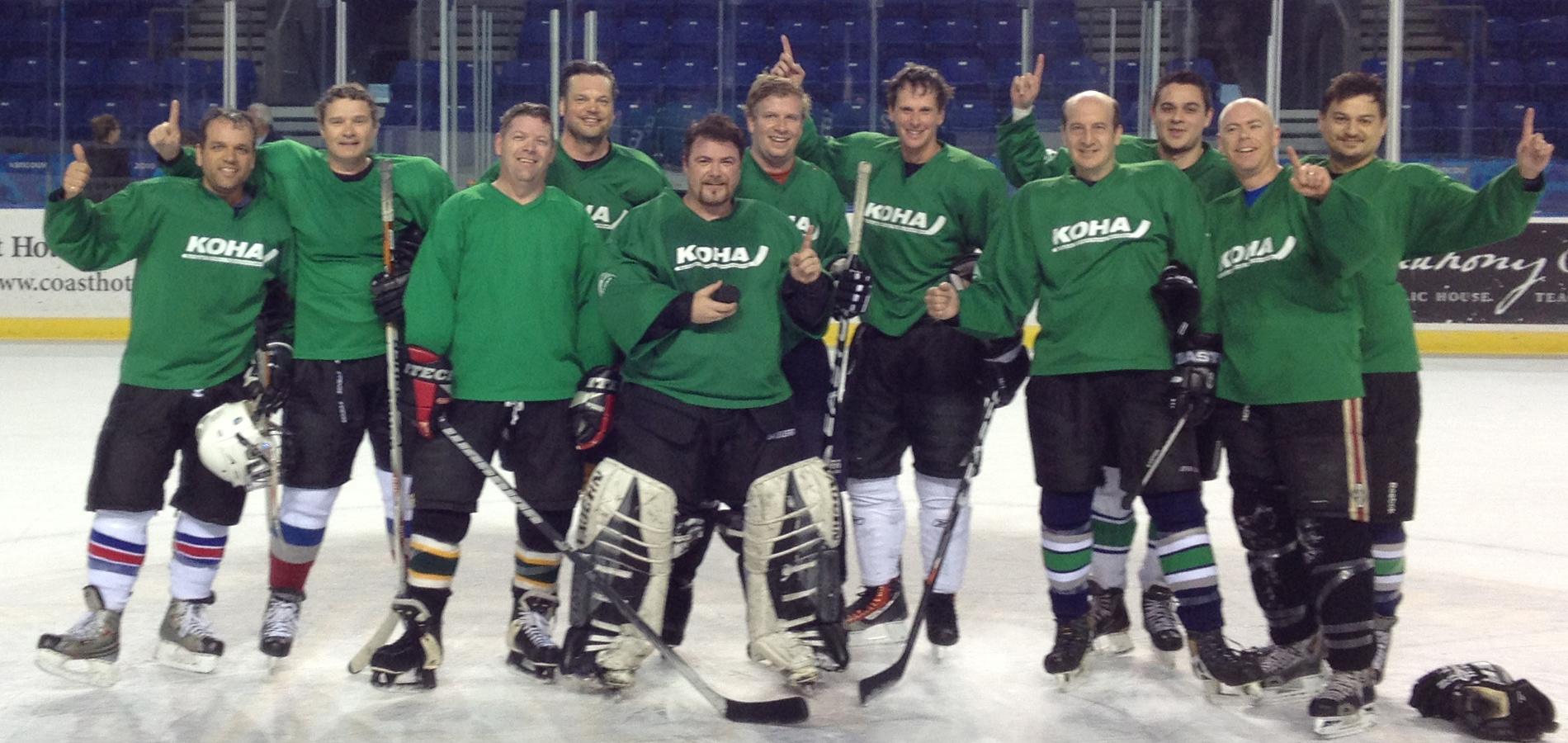 KOHA :: Team Green Champs 2012/2013