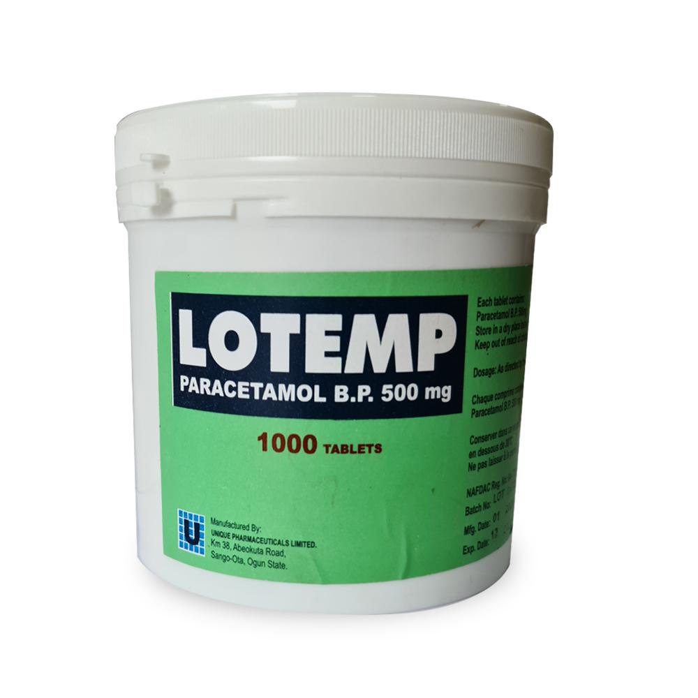 Lotemp-Paracetamol-BP-500mg