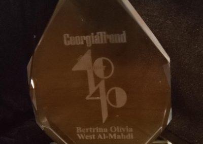 GeorgiaTrend 40 under 40 award