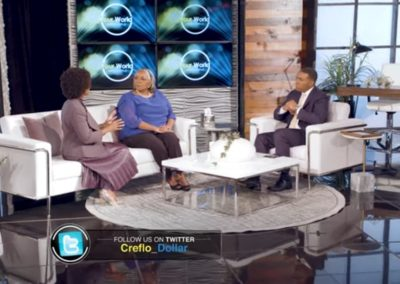 Guest trauma expert on Your World with Creflo Dollar