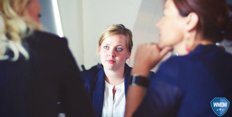 Job seekers - photo of an interview