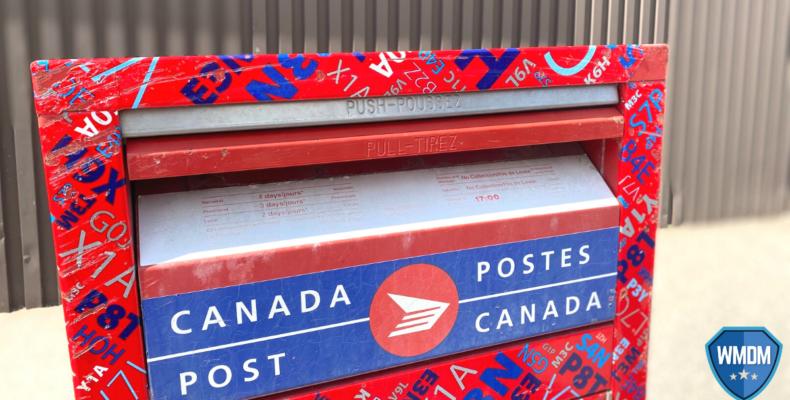 Direct marketing - Canada post mailbox