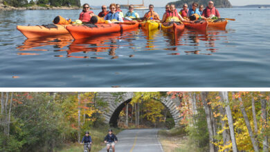 Photo of Glenn Tucker seeks Workampers to help with coastal kayaking and bicycle tours in Maine in Episode 068
