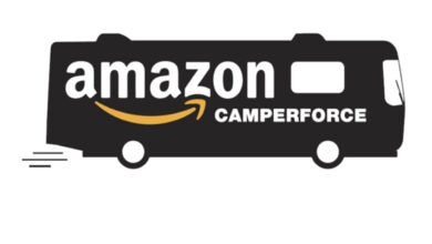 Photo of In Episode 086, Kelly Calmes describes the Amazon CamperForce Program and jobs available this fall