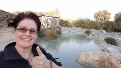 Photo of Kary McElroy describes her first Workamping experience on Episode 096