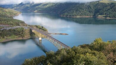 Photo of Park Ranger Emily Kohl describes a Napa Valley opportunity at the USACE project at Lake Sonoma in Episode 103