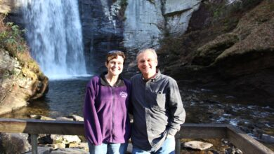 Photo of Tracy and Lee Perkins talk about their six-year adventure on Episode 108