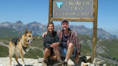 Photo of Jim Nelson and Rene Agredano, founders of Live. Work. Dream., encourage people to 'be more dog' in Episode 116