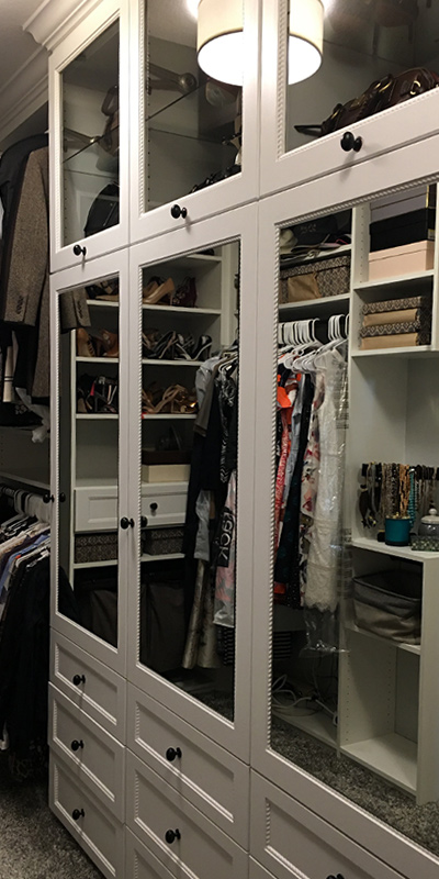 Closets by Devora
