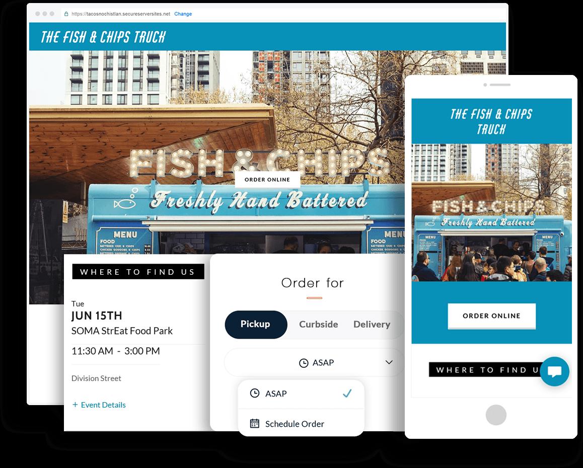 Websites for Food Trucks