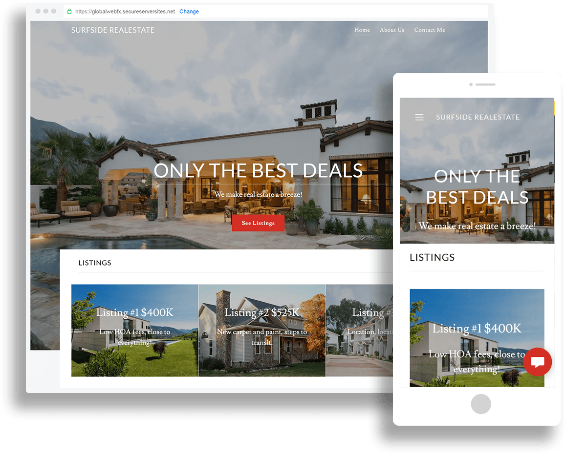 Websites for Realtors and Real Estate Agents