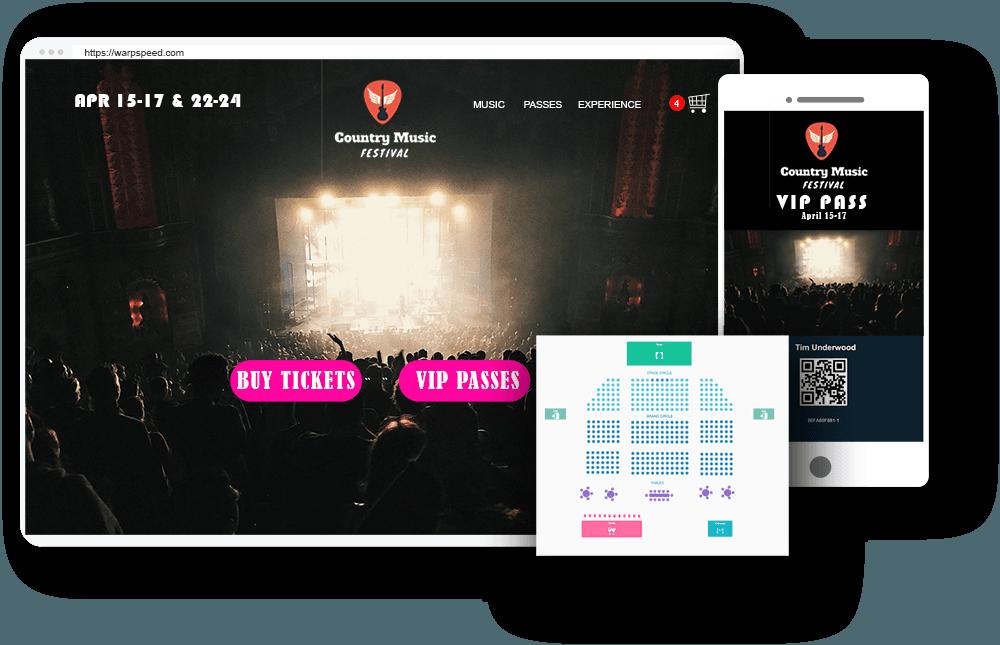 Websites for Concerts, Shows, Festivals, and Tourism
