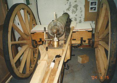 1862 British bronze 6 pdr field gun