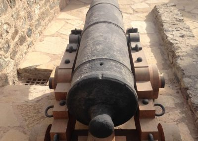 Conserved cannon at Mutrah