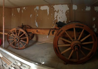 carriage for Portuguese cannon