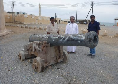 Cannon for conservation, Barka