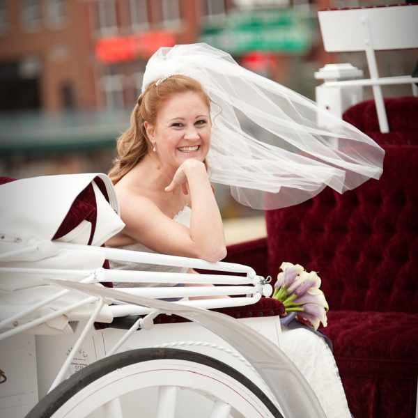 This bride enjoyed her day!
